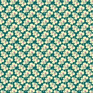 Amy Butler Eternal Sunshine Fabric PWAB1663 Pansies Ivory