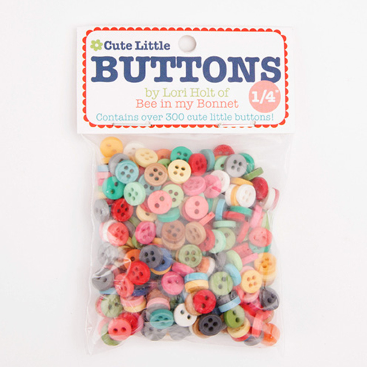 Cute Little Buttons By Lori Holt of Bee In My Bonnet • Stitches Quilting