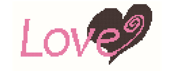 Pink-Brown-Love-Heart