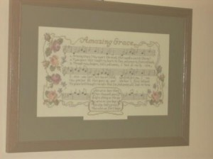 Amazing Grace Janlynn Kit Stitched by Joy