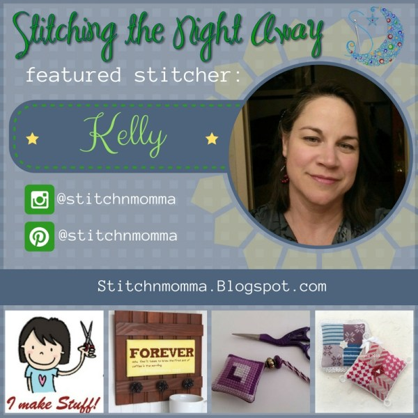 featured stitcher kelly