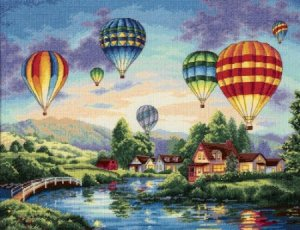 Dimensions Cross Stitch Balloon Glow