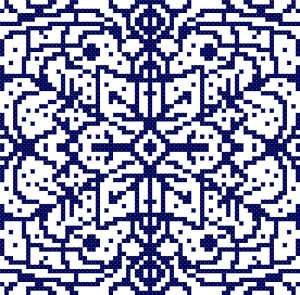 Winter Days Free Cross Stitch Pattern Preview