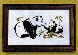 Panda Pals Cross Stitch Chart