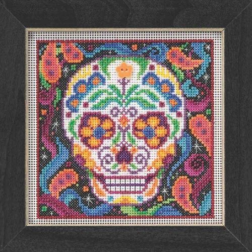 Mill Hill Beaded Sugar Skull Cross Stitch Kit