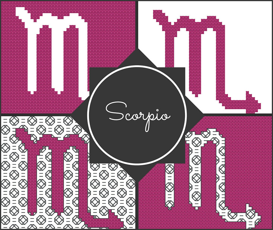Scorpio Zodiac Blocks