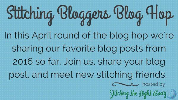 Stitching the Night Away Stitching Bloggers Blog Hop