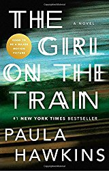 the girl on the train by paula hawkins available on Amazon (kindle, paperback, and hardcover)