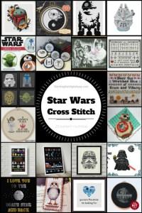 20 Star Wars Cross Stitch Patterns