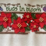buds in bloom cross stitch sal from lakeside needlecraft