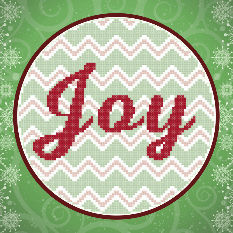 Joy Chevron Hoop Pattern