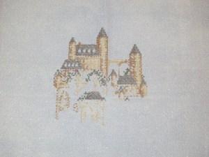 Stitching Castle Ridge (a Teresa Wentzler Mini Design)
