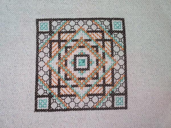 Bella's Block Ornament Pattern