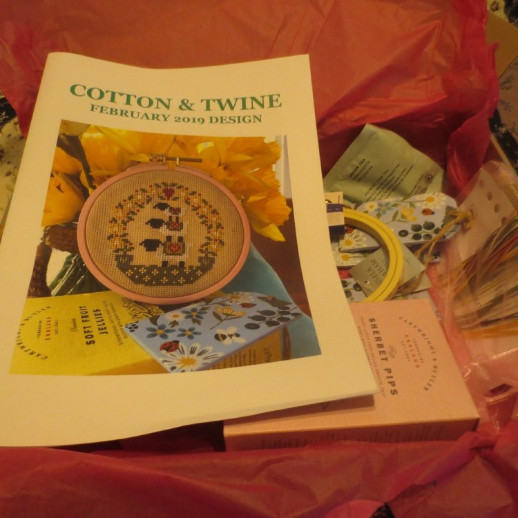 Cotton & Twine subscription box for February 2019