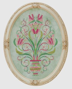 Dance of the Tulips Cross Stitch from Glendon Place