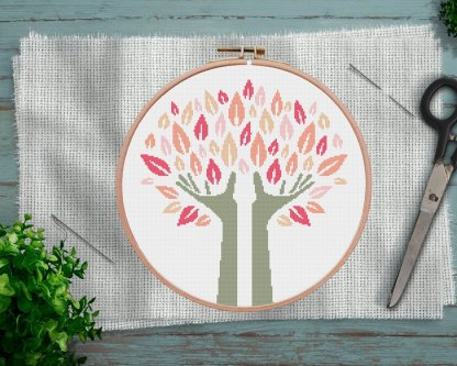 Abstract-Tree-Cross-Stitch-Pattern-Etsy