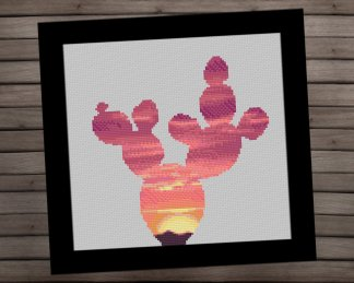 cactus-1-Etsy cross stitch pattern