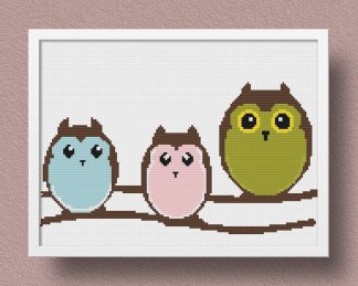 y nursery cross stitch pattern