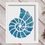 seashell 2-modern-nautical-cross-stitch-pattern