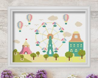 ferris-wheel-cross-stitch-pattern