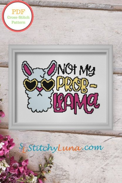not-my-probllama-pdf-cross-stitch-pattern
