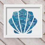 seashell 32-modern-nautical-cross-stitch-pattern