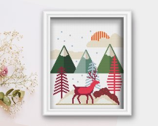 winter-scene-cross-stitch-pattern