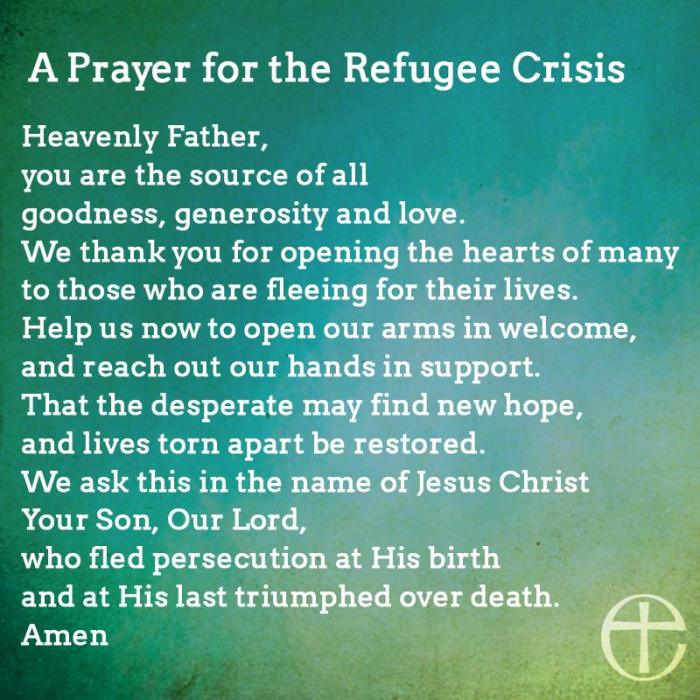 Prayer Refugee-Crisis
