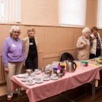 Some of the ladies who prepare & provide tea