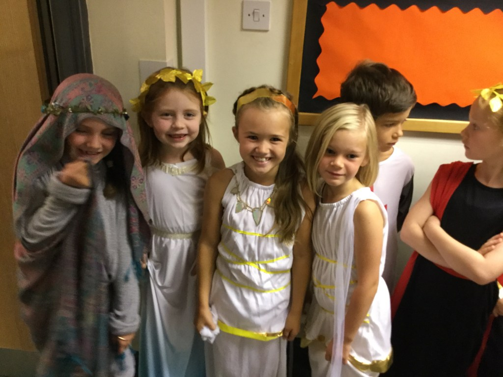 Pictures from our Roman drama day with Treehouse Theatre