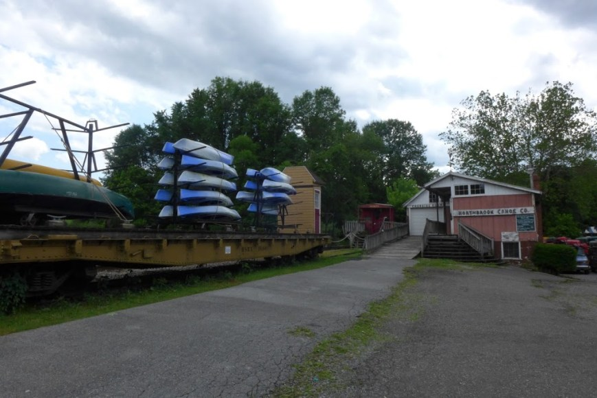 Northbrook Canoe Co. on the Western branch of the Brandywine River in SE Pennsylvania.