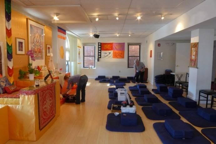Main meditation room, DC Shambhala Center