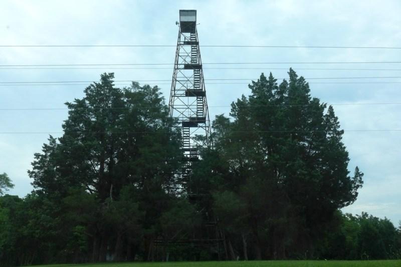 Fire tower, King Willam VA