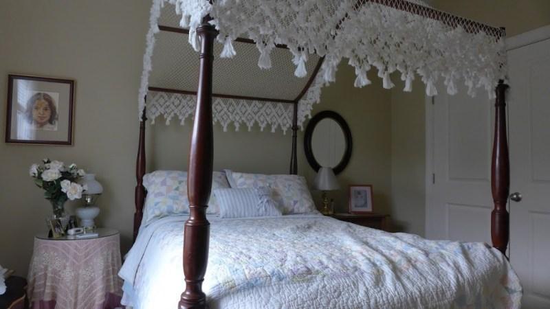 """The family """"Princess Bed."""" Cousin's house, Fuquay-Varina, North Carolina."""