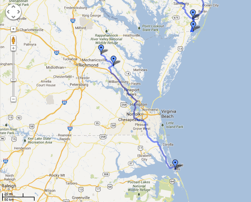 2013 Road Trip – Part One