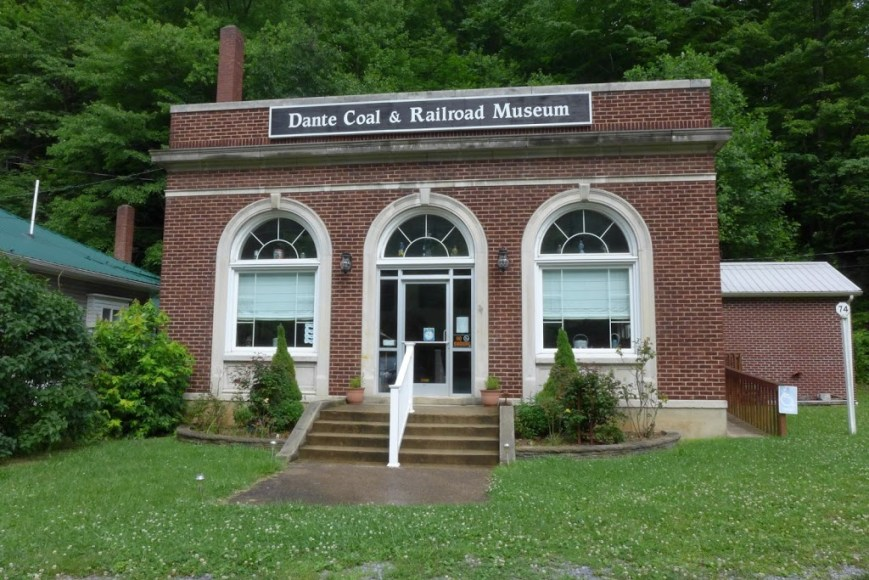 The old bank building, now a museum