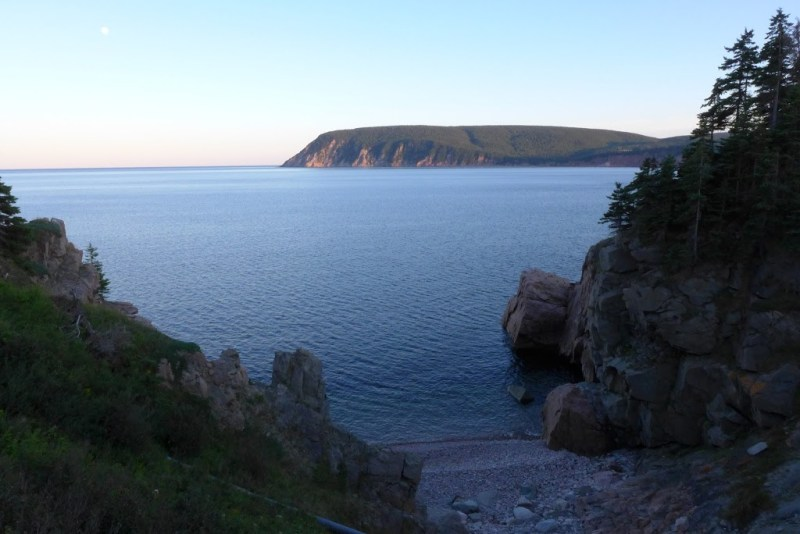If you have no doubt, you can fly. Cape Smokey from the Keltic Lodge peninsula. Cape Breton, Nova Scotia