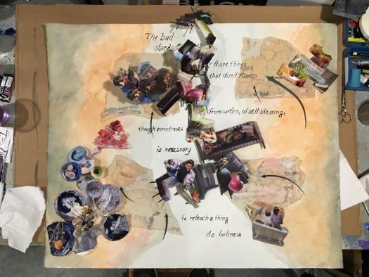 """December 3: """"Safe"""" Collage (In Progress)"""