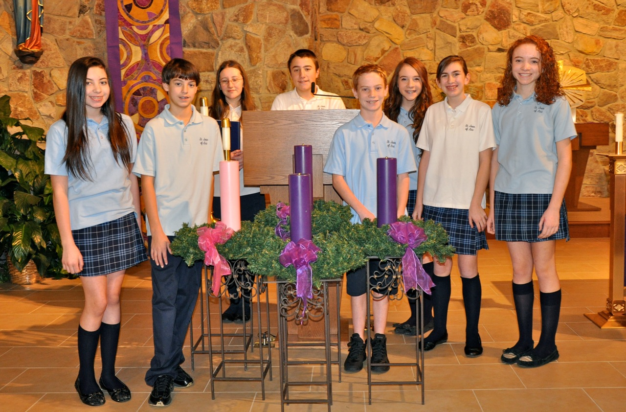School Liturgy 2 St Joan Of Arc Parish