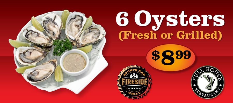 Oyster Special - $8.99