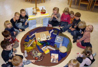 Gruppenbild Kindergarten