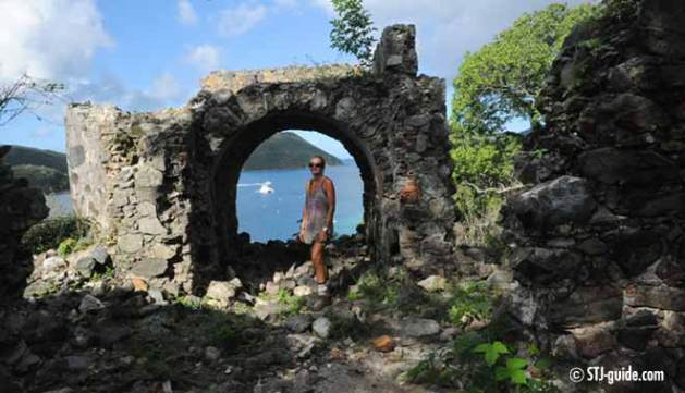 Jonny-horn-trail-stjohn-usvi-guardhouse