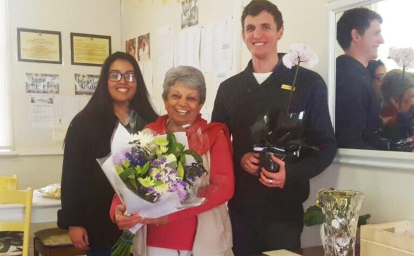 A Special Year for Mrs Govender