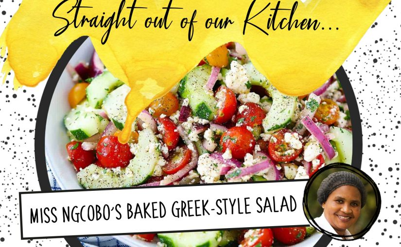 Recipe: Miss Ngcobo's Greek-Style Salad
