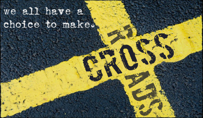 Image result for at a crossroads images