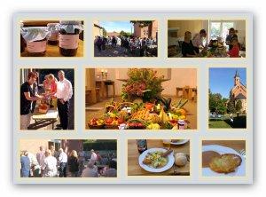 Erntedankgottesdienstund Gemeindefest mit Haushalts-Flohmarkt