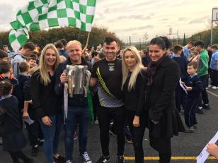 Mr. Kavanagh is thrilled for Naomh Éanna.