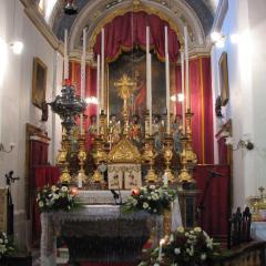 Malta 2006 - St Julian - Lapsi Church inside 3