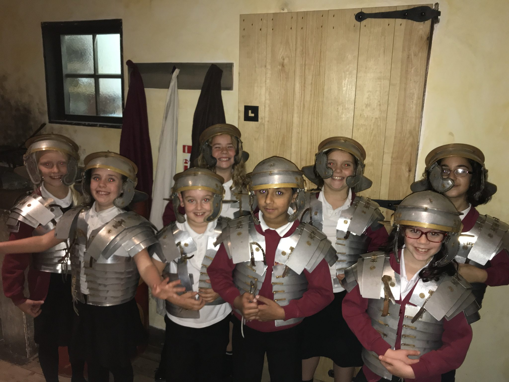 Y3&4 Trip to the National Roman Legion Museum