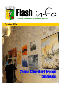 Flash Info Octobre 2014